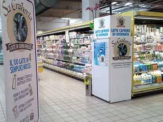 Distributore latte crudo interno GDO